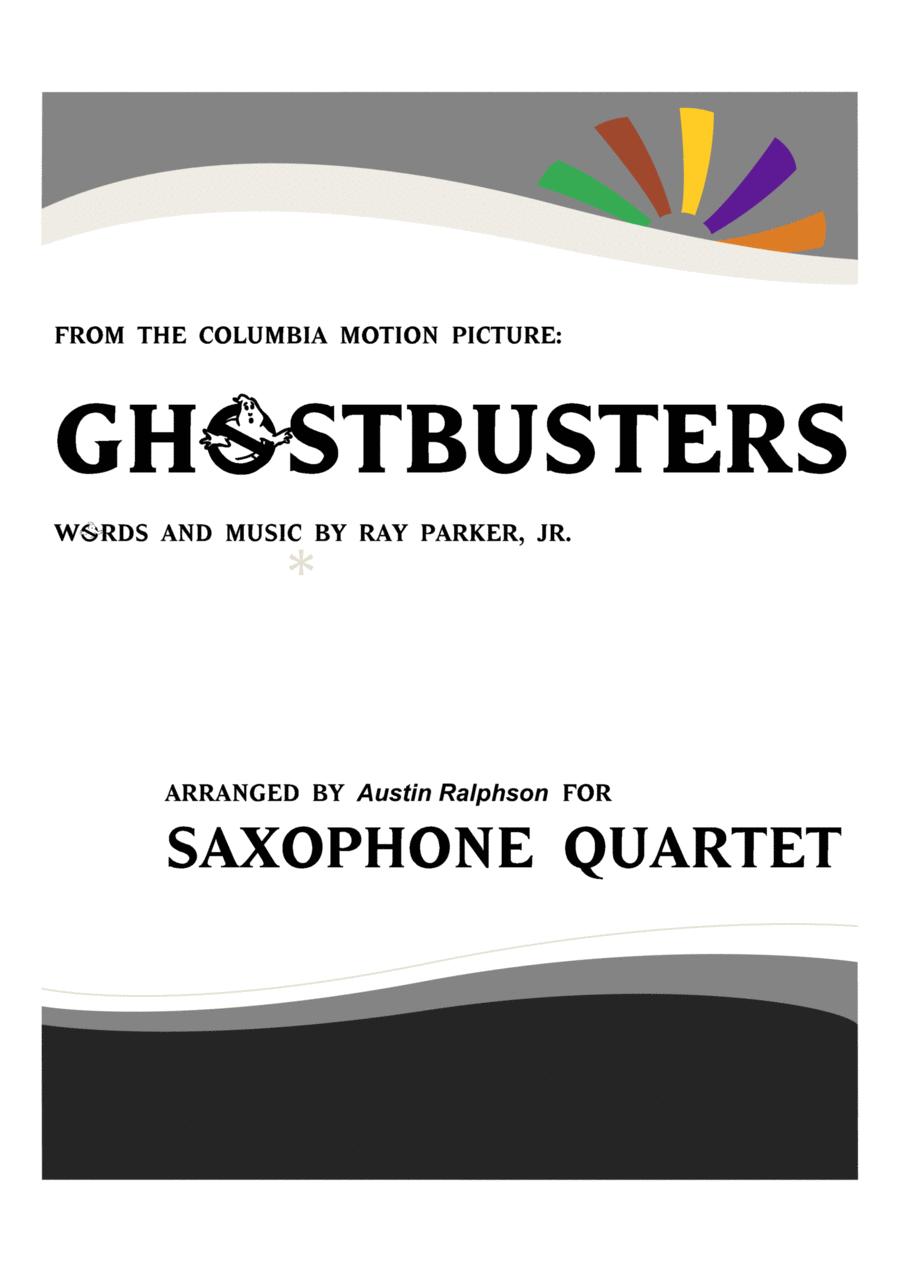 Ghostbusters - sax quartet