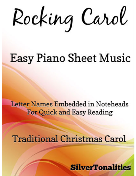 Rocking Carol Easy Piano Sheet Music