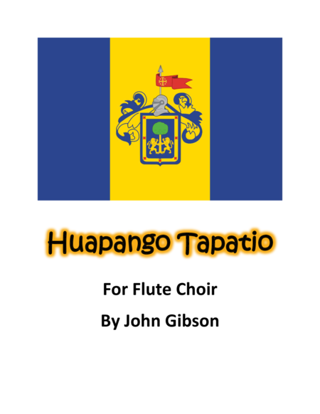 Huapango Tapatio for Flute Choir