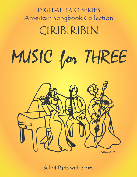 Ciribiribin for String Trio- Violin, Viola, Cello