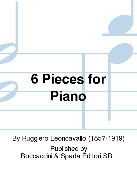 6 Pieces for Piano