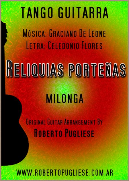 Reliquias Porteñas - milonga guitar