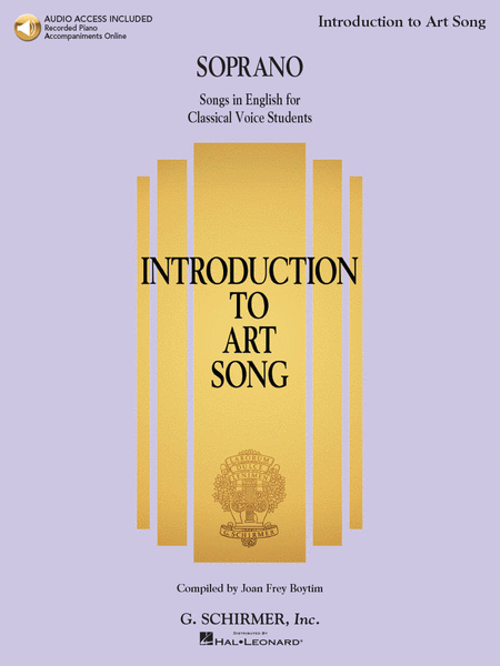 Introduction to Art Song for Soprano