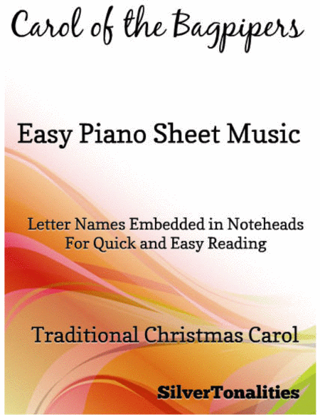 Carol of the Bagpipers Easy Piano Sheet Music
