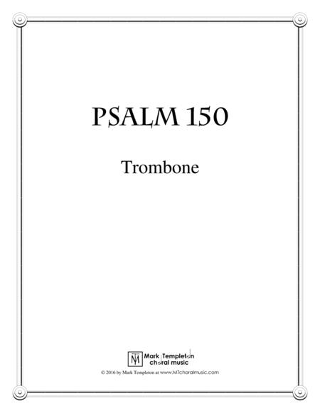Psalm 150 (Trombone)