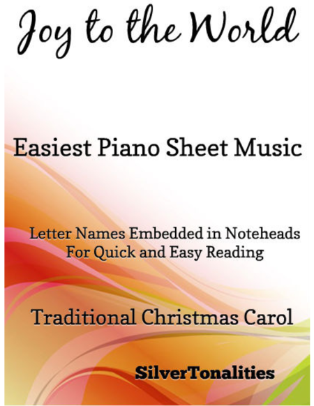 Joy to the World Easiest Piano Sheet Music
