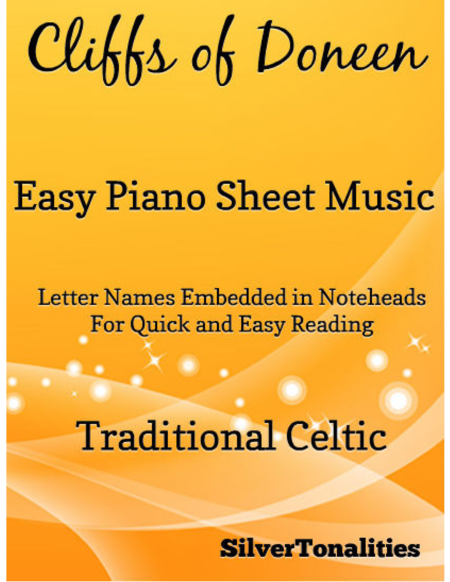 Cliffs of Doneen Easy Piano Sheet Music