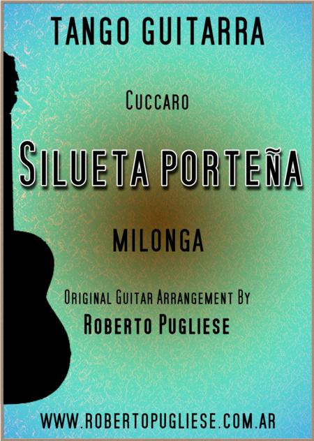 Silueta Porteña - milonga guitar