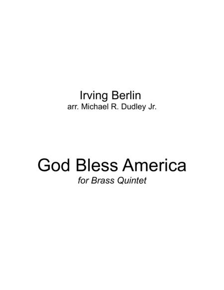 God Bless America (for Brass Quintet)