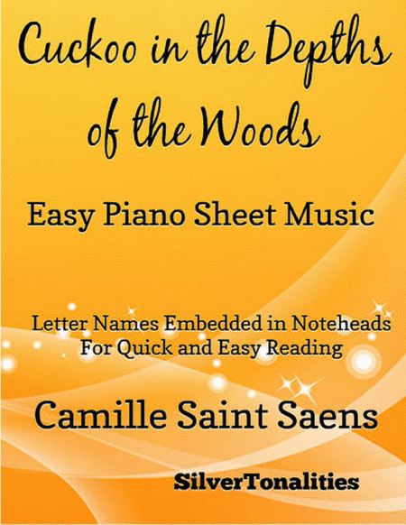 Cuckoo in the Depths of the Woods Easy Piano Sheet Music