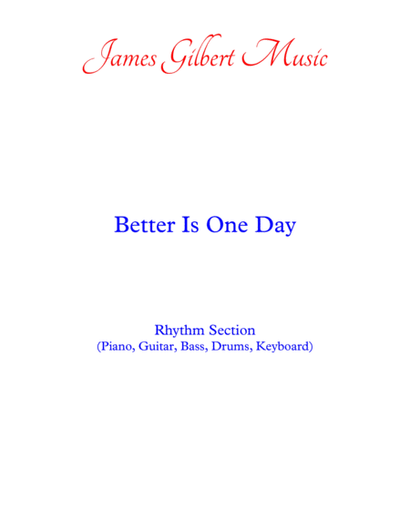 Better Is One Day