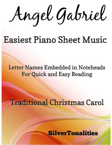 Angel Gabriel Easiest Piano Sheet Music