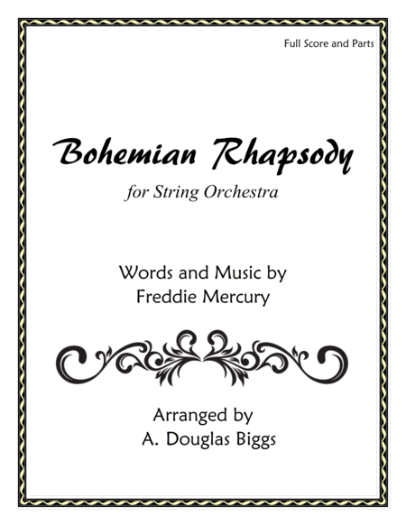 Bohemian Rhapsody for String Orchestra
