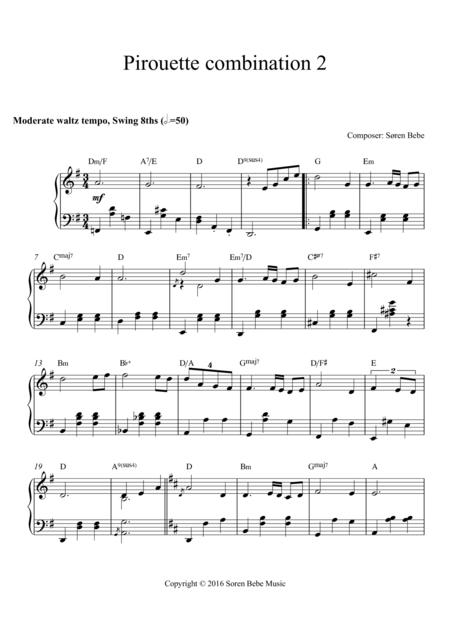 Music for Ballet Class - Pirouette combination (Waltz 2)