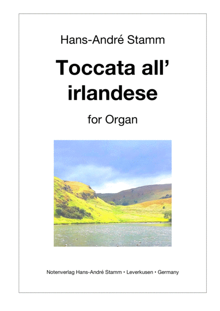Toccata all'irlandese for organ