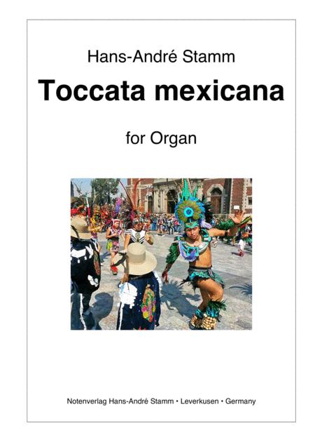 Toccata mexicana for organ
