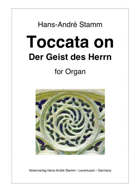 Toccata on 'Der Geist des Herrn' for organ
