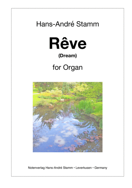Rêve for organ
