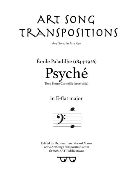 Psyché (E-flat major, bass clef)