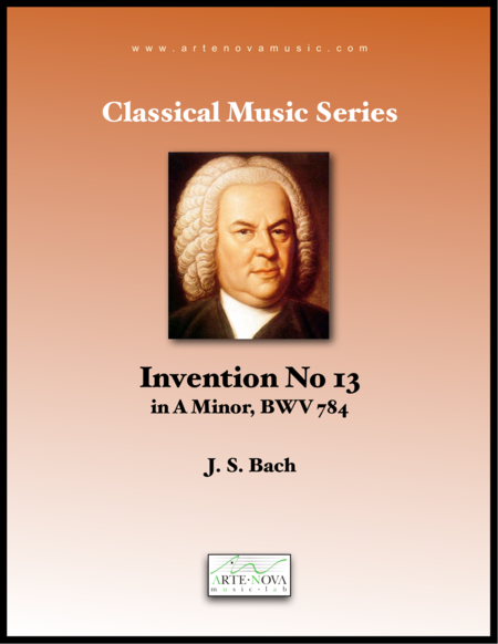 Invention No 13 in A minor, BWV 784