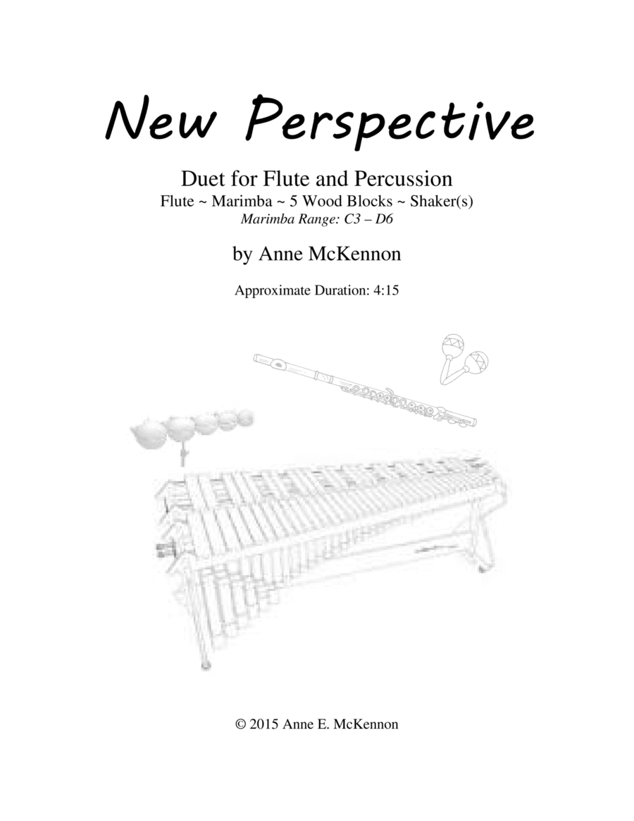 New Perspective - Duet for Flute & Percussion