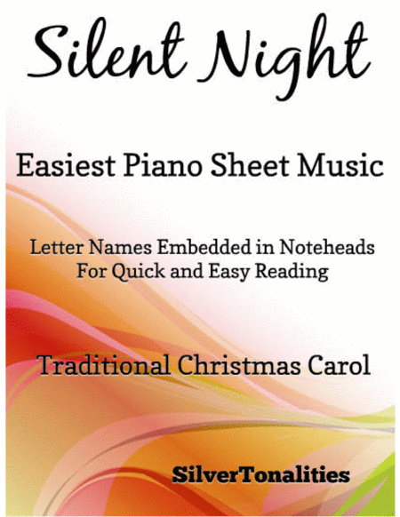 Silent Night Easiest Piano Sheet Music