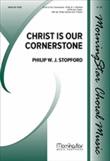 Christ Is Our Cornerstone (Choral Score)