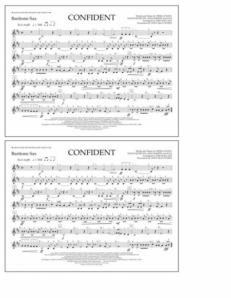 Confident - Baritone Sax