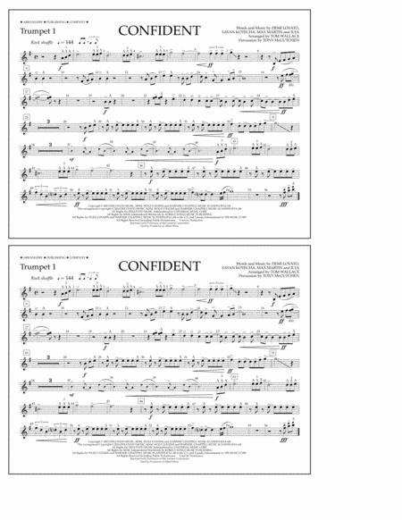 Confident - Trumpet 1