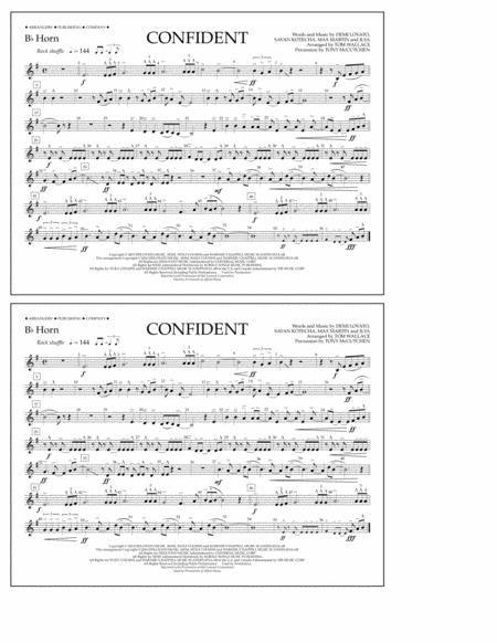 Confident - Bb Horn