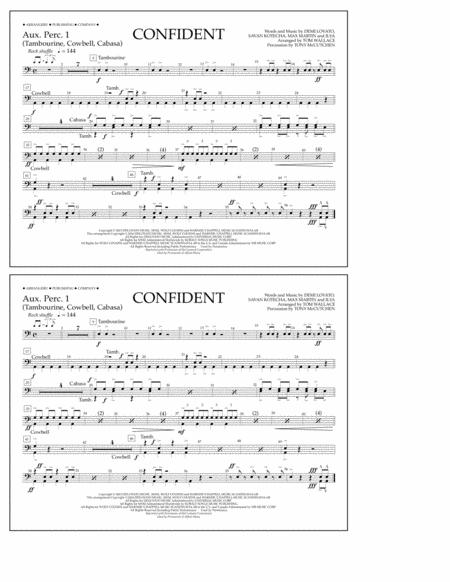 Confident - Aux. Perc. 1