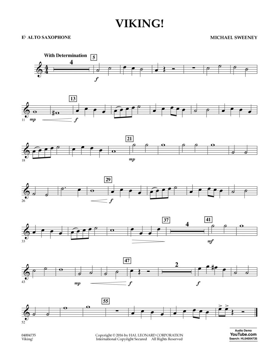Viking! - Eb Alto Saxophone