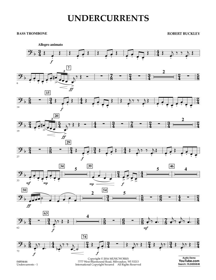 Undercurrents - Bass Trombone