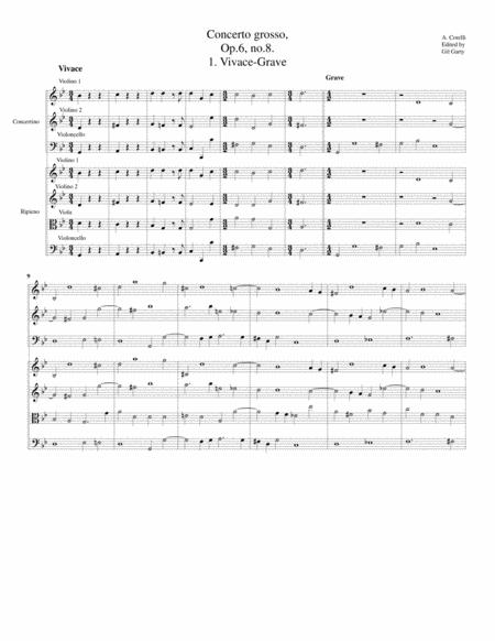 Concerto grosso, Op.6, no.8