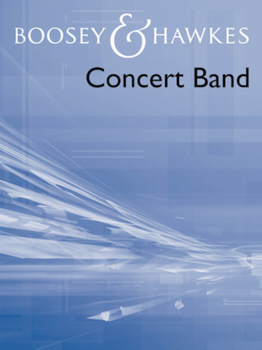 Blue Lake (overture For Concert Band) Revised Edition Full Score
