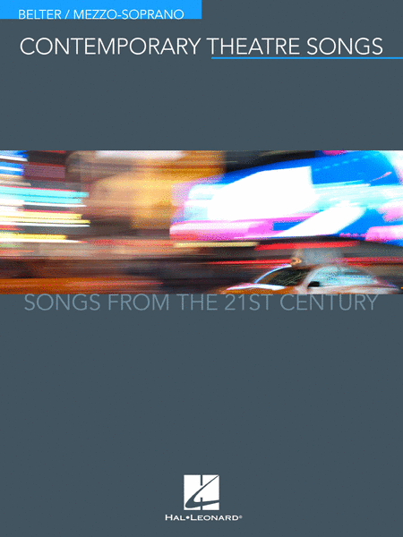 Contemporary Theatre Songs - Belter/Mezzo-Soprano