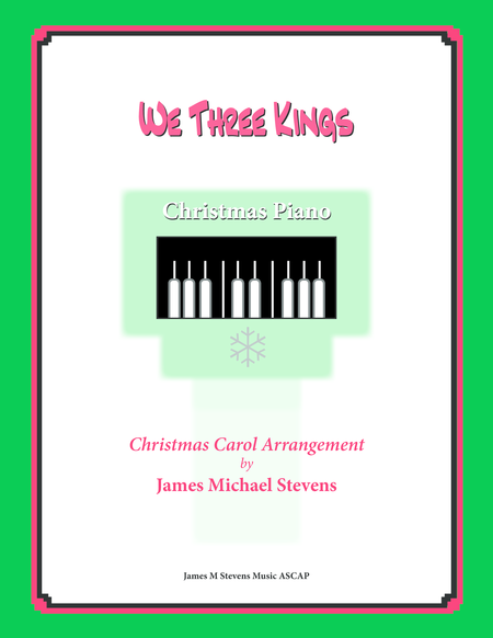 We Three Kings (Christmas Piano)