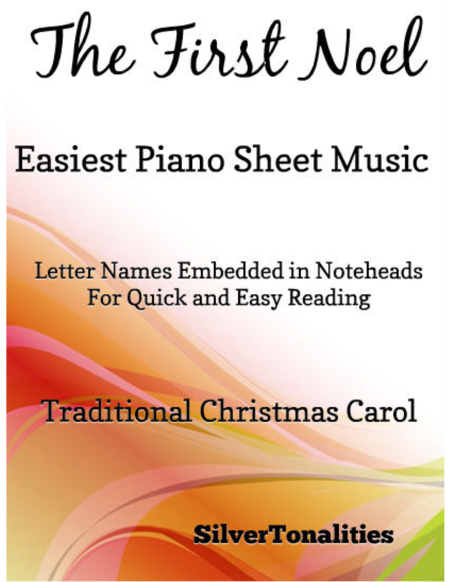 First Noel Easy Piano Sheet Music