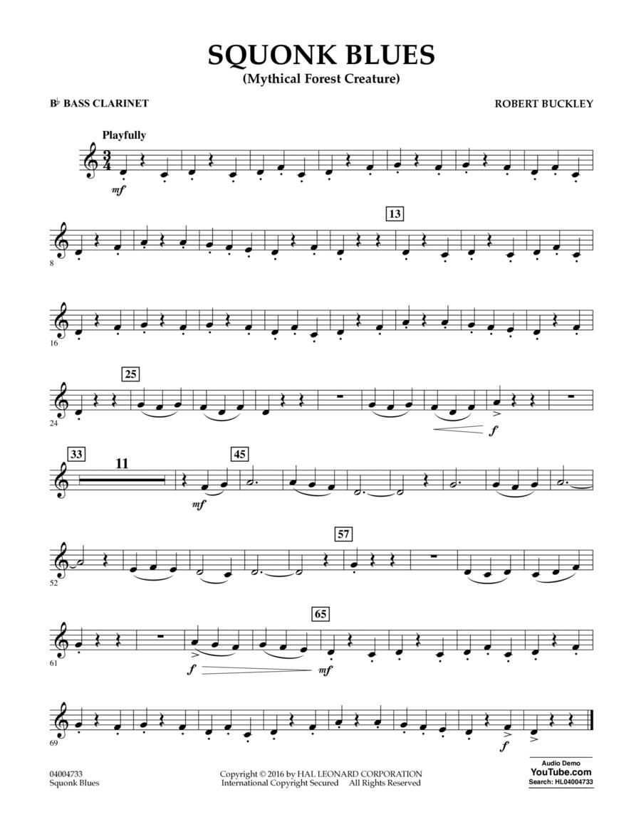 Squonk Blues - Bb Bass Clarinet