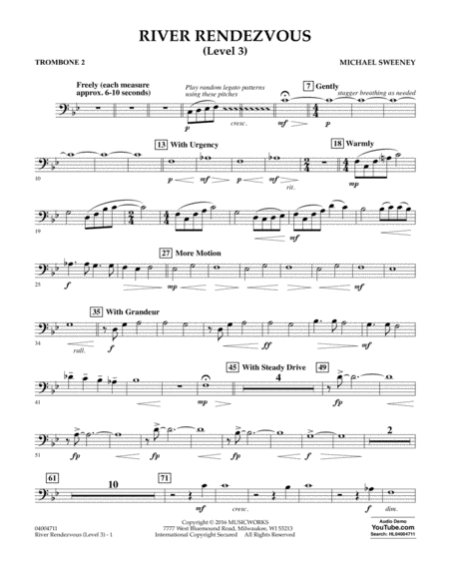 River Rendezvous - Trombone 2 (Level 3)