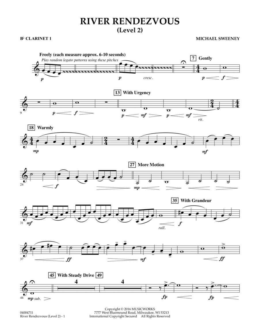 River Rendezvous - Bb Clarinet 1 (Level 2)
