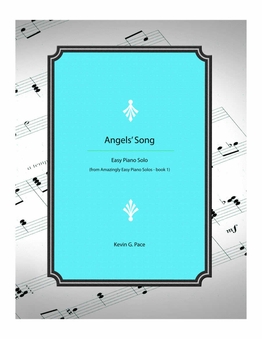 Angels' Song - Easy piano solo