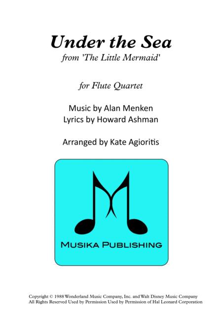 Under The Sea - Flute Quartet