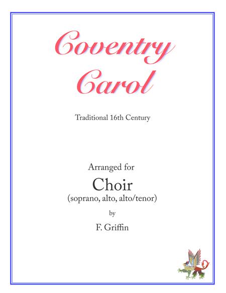 Coventry Carol for SAA/SAT choir