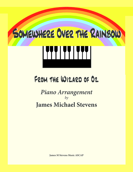 Somewhere Over the Rainbow (Piano Solo)