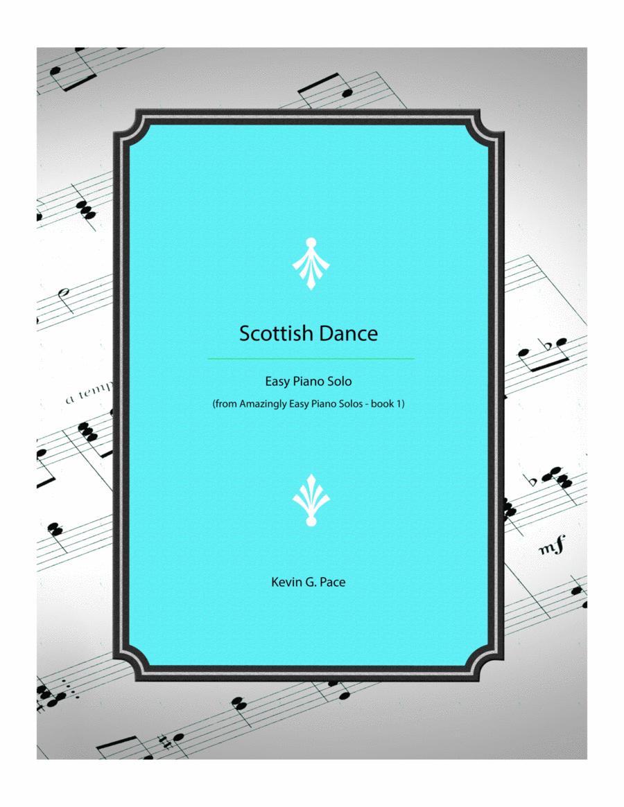 Scottish Dance - Easy piano solo