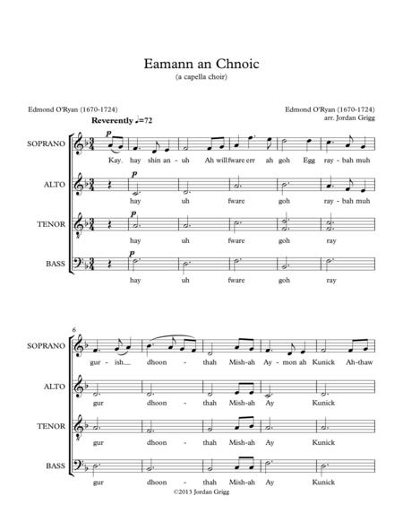 Eamann an Chnoic (a capella choir)