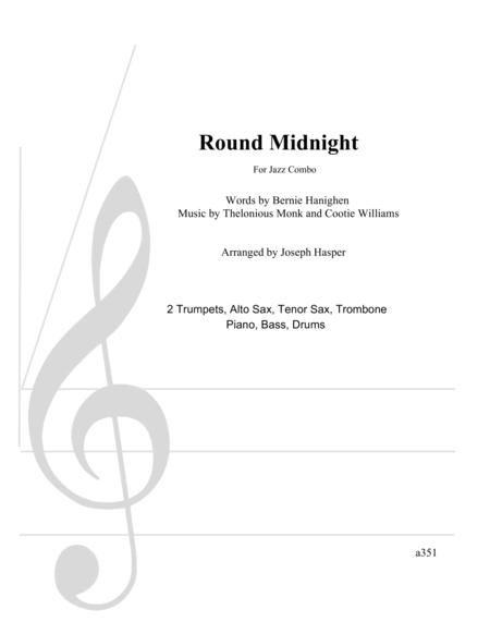 Round Midnight (Large Jazz Combo)