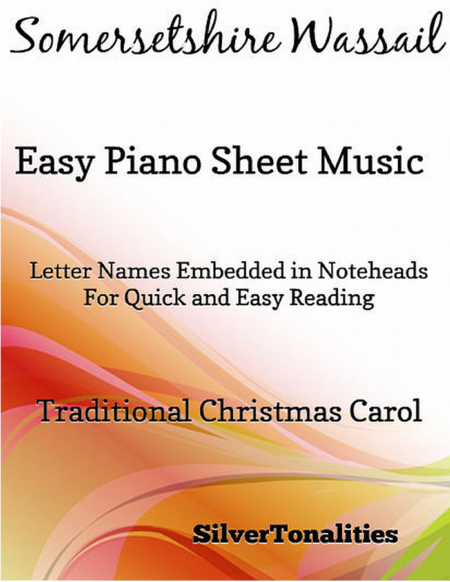 Somersetshire Wassail Easy Piano Sheet Music