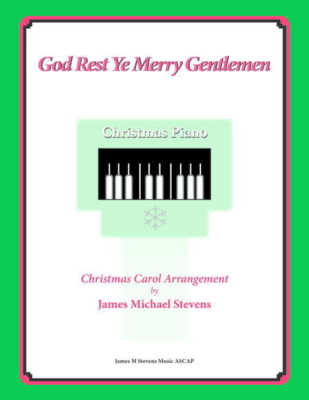 God Rest Ye Merry Gentlemen (Christmas Piano)
